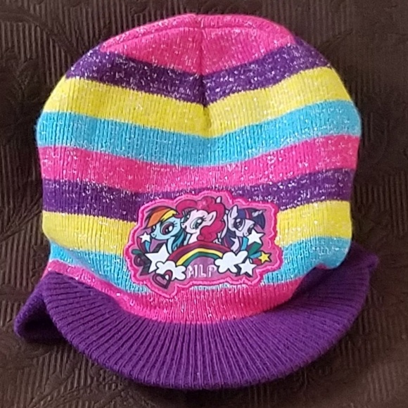 794311033 My Little Pony Beanie/Hat/Cap Purple/Pink/Blue
